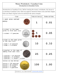 Halloween Multiplication Worksheets Grade 5 by Money Worksheets For 2nd Grade Money Worksheets Canadian Coins