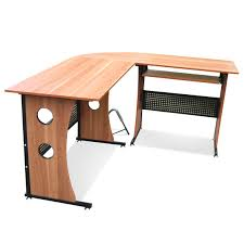 Black Glass Corner Computer Desk by Tinxs Stable Corner Computer Desk Home Office Pc Table With