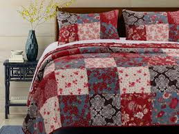 Greenland Home Bedding by Nicole Quilt Set 3 Piece King Gl 1603gmsk Traditional Country