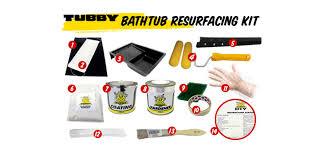 Bathtub Reglazing Kit Canada by Bath Refinishing And Bathtub Resurfacing Kits Tubby Diy