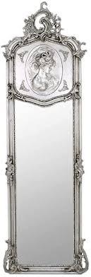 casa padrino barock spiegel silber 55 x h 175 cm