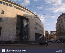 the central post office fascist architecture in Naples south of