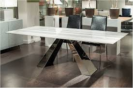 Awesome Buy Stone International Butterfly Marble With Stainless Steel Base Handsome Models Dining Table Harvey