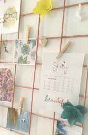 Diy Wire Wall Grid Room Decor