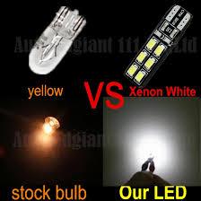 canbus t10 led w5w car parking light bulbs for vw passat jetta