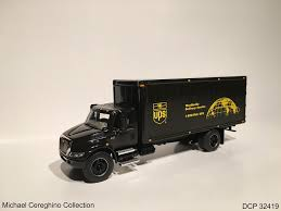 100 Ups Truck Toy Diecast Replica Of UPSold Logo International 4400 Delive
