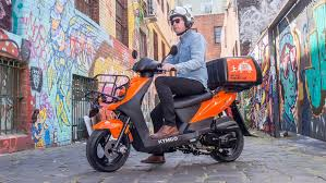 Kymco Agility Carry Delivery Scooter