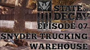 State Of Decay - 07🦅Snyder Trucking Warehouse - YouTube Rti Riverside Transport Inc Quality Trucking Company Based In Schneider National Plans Ipo Wsj 668 Best Custom Trucks Images On Pinterest Semi Trucks Big Opening New Facility Shrewsbury Mass Jasko Enterprises Companies Truck Driving Jobs Car Accident Attorneys In Mason Ohio Ride Of Pride Visit To Driver Institute Youtube Photos Waupun N Show 2016 Galleries Winewscom Best Image Kusaboshicom Home Lubbock Wrecker Snyder Towing Roadside May Trucking Company Roho4nsesco What Is A Good To Buy 2018