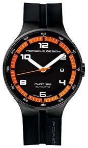 Amazon Porsche Design Watch Flat 6 P 6350 Automatic PVD