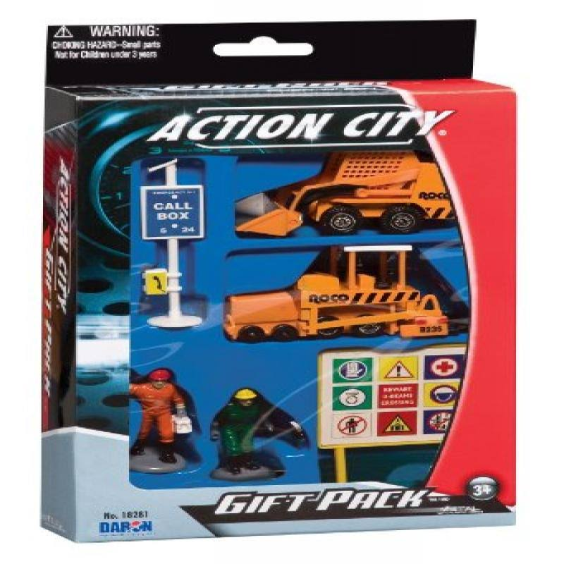 Daron Construction Vehicle Gift Pack