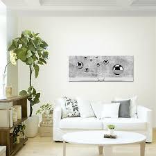 wandbilder 3d kugeln beton grau leinwand bilder