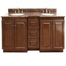 granite top 60 inch double sink bathroom vanity by legion