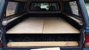 100 Truck Bed Camper Diy Platform Camping A Plywood Platform And A