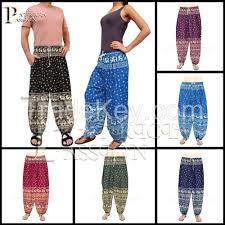 harem comfort pants for women men unisex great for yoga sport