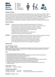 10 Nursing Resume Template