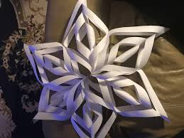 How to Make a 3D Paper Snowflake 12 Steps with