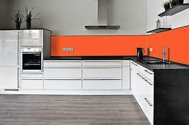 esg küchenrückwand fliesenspiegel glas 6mm farbig lackiert