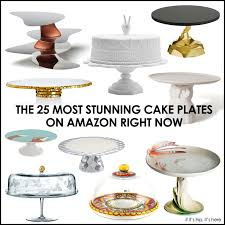 For The Bakers And Party Throwers Out There Weve Found 25 Technically 27 Most Stunning Cake Stands Available On Amazon Right Now