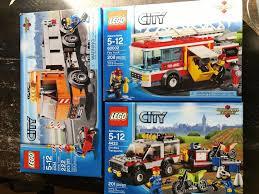 100 Lego City Dump Truck Lot Of 3 Sets 4434 60002 4433 Fire