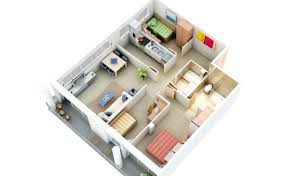 Stylish 3 Bedroom Design Inside House Plans Ideas Recyclenebraska Org