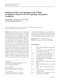 definition franco de port hardware in the loop simulation with x plane of attitude