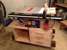 Ryobi Tile Saw Stand by Bt3100 Table Saw Stand By Jd13 Lumberjocks Com Woodworking