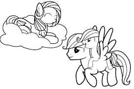 Mlp Coloring Pages Games My Little Pony