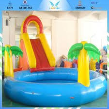 Banzai Spray N Splash Elephant Pool Inflatable Swimming Water Slide Swim Fun 00026753315628 Your Backyard Will Be A Zoo With The