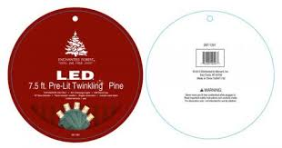 Menards Artificial Christmas Tree Stand by Seasonal Specialties Recalls Pre Lit Christmas Trees Cpsc Gov