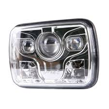 Square 5X7 Inch Led Headlight Daymaker Sealed Beam Replacement DOT ... Truck Lite Led Fog Lights Jeep Jk Led Trucklite Headlight Kit With Pwm Adaptors Black Dog Offroad 7 Ultra Bright Headlights Long Life Headlamps For Trucks Reviews Bulbs Oradeainfo 27491c 7x6 Rectangular Driver Side Penske Installing Headlights On 5000 Rental Semi Custom Volvo Lvnx The Vision X Vortex Series Headlight Is A Plug And Play Nfsepgo Round Car 75w 12 Proscons Review Pic Heavy Cherokee Forum 4x6 Polycarbonate Lens Alinum Low Auxiliary Light Insert 80240