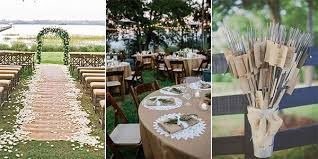 If Youre Planning A Rustic Themed Wedding Which Is Still On Trend This Year Were Talking About Lace And Burlap Decorations Today