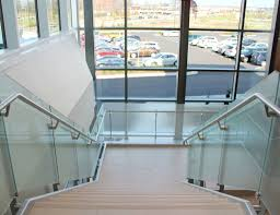 Glass Railing Featuring Fascia Mounted Nodes | SC Railing Company Glass Stair Rail With Mount Railing Hdware Ot And In Edmton Alberta Railingbalustrade Updating Stairs Railings A Split Level Home Best 25 Stair Railing Ideas On Pinterest Stairs Hand Guard Rails Sf Peninsula The Worlds Catalog Of Ideas Staircase Photo Cavitetrail Philippines Accsories Top Notch Picture Interior Decoration Design Ideal Ltd Awnings Wilson Modern Staircase Decorating Contemporary Dark