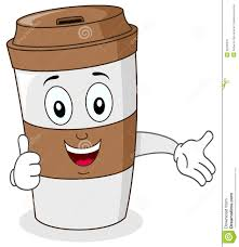 Paper Coffee Cup With Thumbs Up