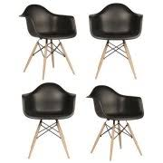 Emodern Decor Shell Side Chair by Emodern Decor Shell Side Chair Set Of 2 Walmart Com
