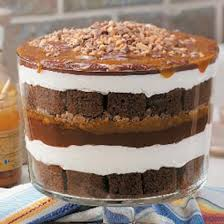Pumpkin Mousse Trifle Country Living by Eggnog Gingerbread Trifle Recipe Gingerbread Trifle