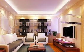 Display Cabinets For Sofa Background Wall