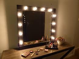 lights light pink wall mirror up bathroom best lighted