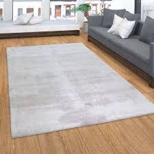 teppich kurzflor teppich für wohnzimmer soft weich waschbar in grau