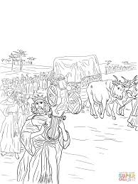 King David Coloring Pages And Bible