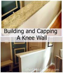 Building And Capping A Knee Wall