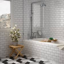 get the industrial style look using metro tiles school of tile