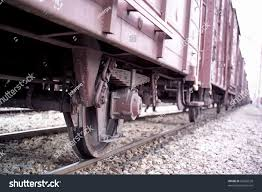 100 Railroad Trucks Close Shot On Stock Photo Edit Now 62566558