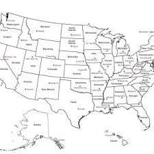 United States Map With State Borders Best California Outline Printable Usa
