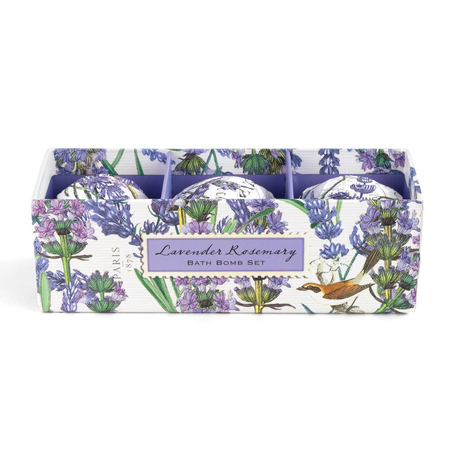 Michel Design Works - Lavender Rosemary - Bath Bomb Set