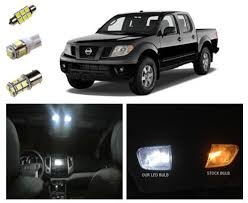 2005 2016 nissan frontier led package interior tag