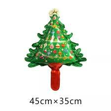 4pcs Lot NEW Candy Christmas Tree New Year Party Balloon Xmas Foil Holidays Green