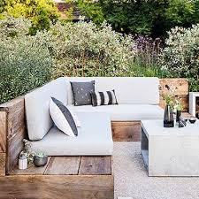 outdoor bench seating bench seat backyard and gardens