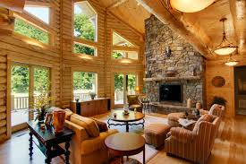 Log Home Interiors Luxury Chic And Creative Log Home Interiors ... Luxury Log Homes Interior Design Youtube Designs Extraordinary Ideas 1000 About Cabin Interior Rustic The Home Living Room With Nice Leather Sofa And Best 25 Interiors On Decoration Fetching Parquet Flooring In Pictures Of Kits Photo Gallery Home Design Ideas Log Cabin How To Choose That