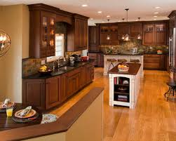 Staining Wood Floors Darker by Mesmerizing Dark Oak Kitchen Cabinets Kitchen And Decoration