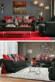 Black And Red Living Room Decorations by Red Black And White Living Room Amazing Ideas 9 On Home